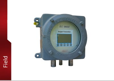 EC9600 Oxygen Transmitter for measurement in trace and %